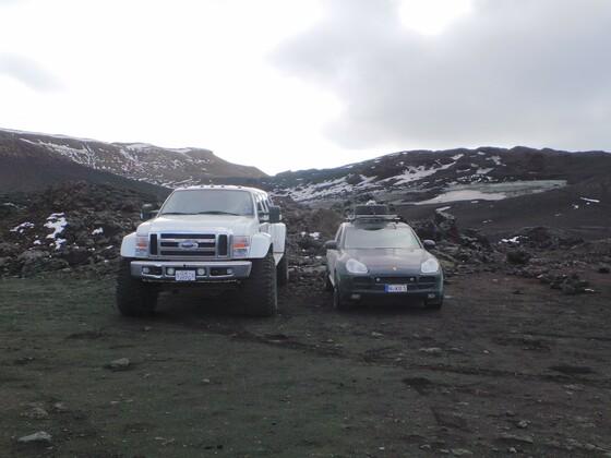 Cayenne 955 auf Island