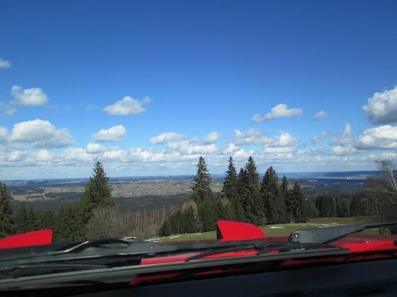 Der Turbo hat Aussicht auf Oberbayern