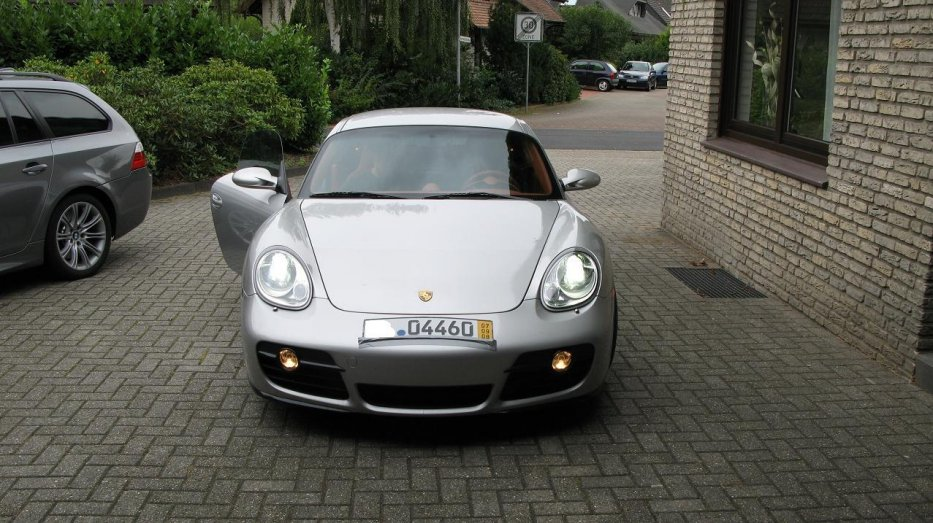 Cayman S Front Black/Silver
