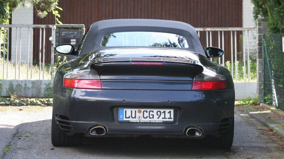 Porsche 996 Turbo Cabrio
