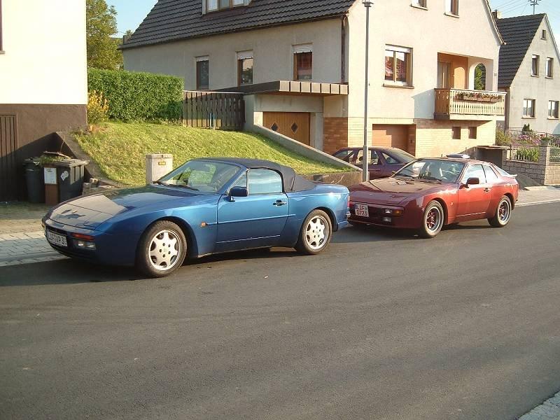 944 S2 Cabrio und 944 Targa