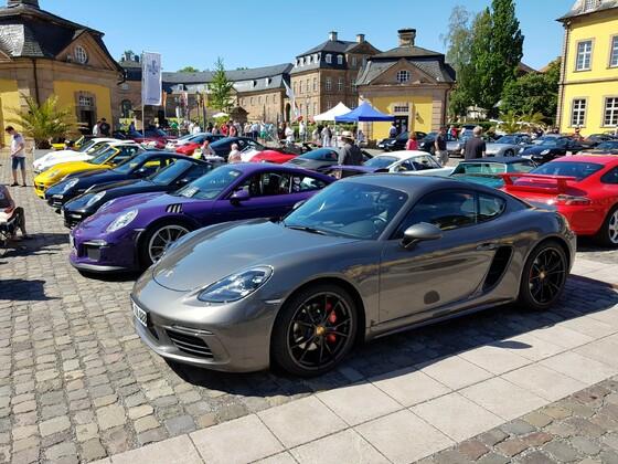 Porschetreffen Bad Arolsen 02.06.2019