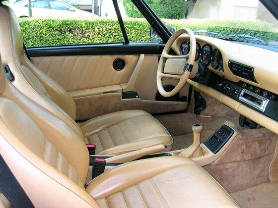 Mein Porsche 964 Innenraum
