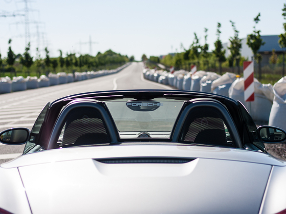 Shooting Boxster