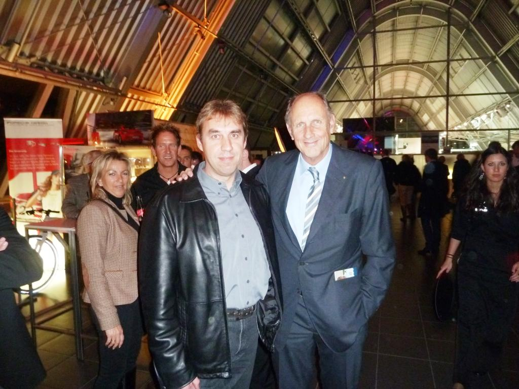 mit H.J.Stuck im PZ Dortmund