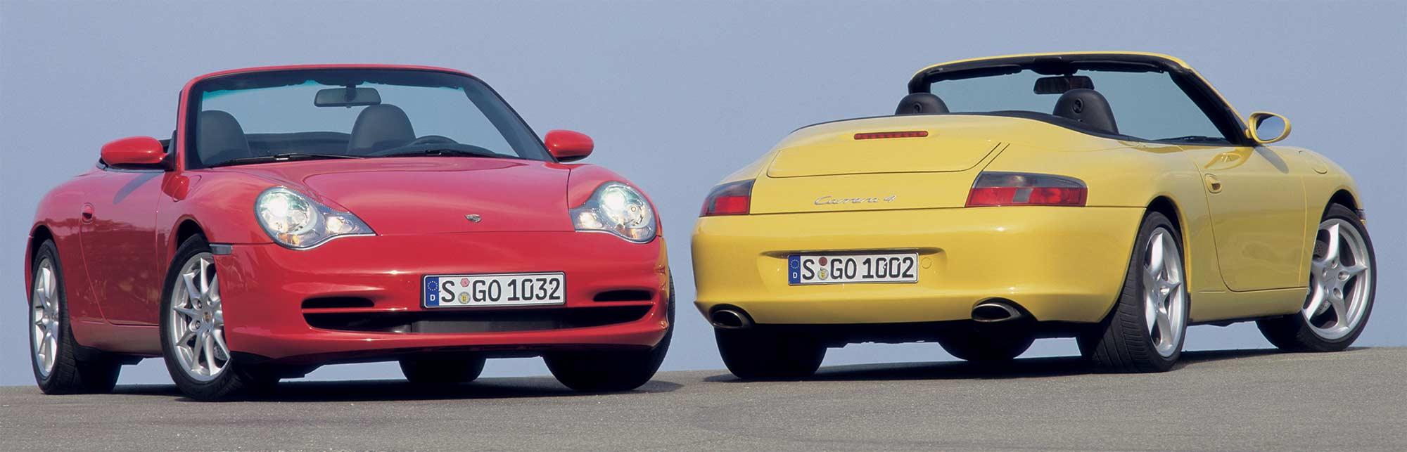 Porsche 996 Cabrio Facelift