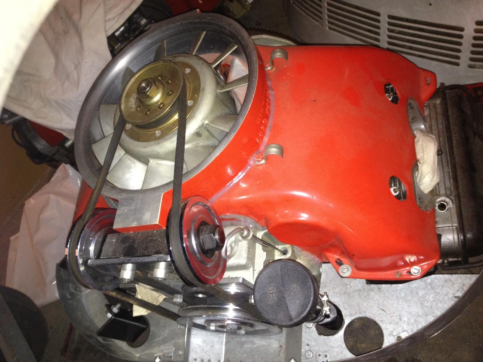 typ 4 motor im vintage speedster mit h kennzeichen. Black Bedroom Furniture Sets. Home Design Ideas