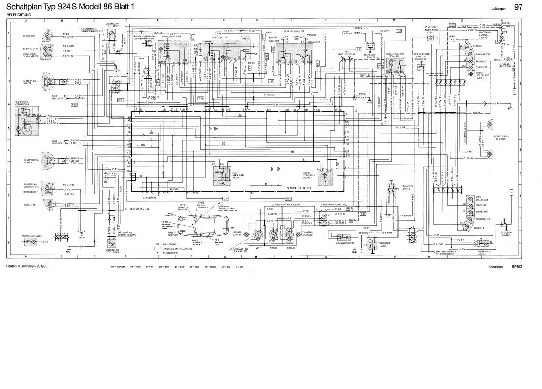 Lichtschalter durchgeschmort - Porsche 924 S und 944 - PFF ...