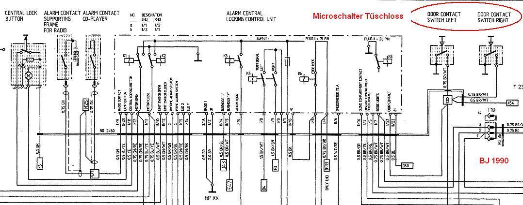 Zentralverriegelung Türschloss funtioniert nicht - Porsche 964 - PFF ...