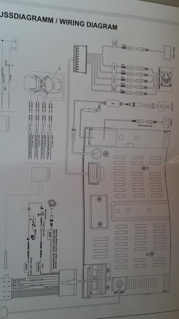 PCM1 Umbau auf Naviceiver Doppel-DIN beim 996 - KEIN Ton ...