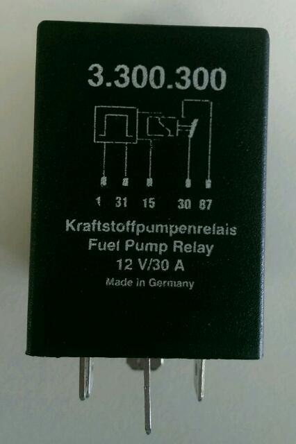 Kraftstoffpumpenrelais die 134igste - Porsche 924 - PFF ...