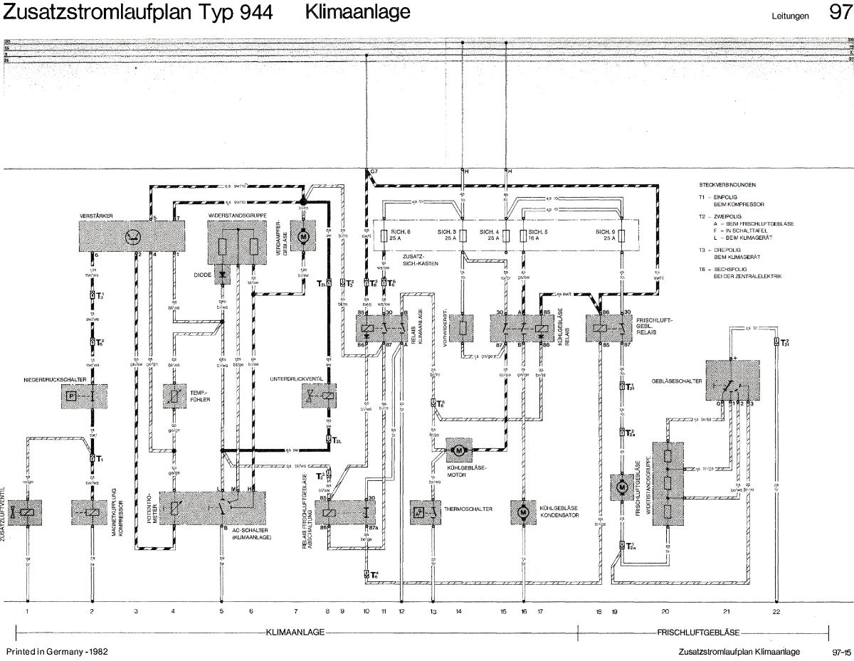 Klimaanlage 924/944I Verstärker - Porsche 924 - PFF - unabhängiges ...