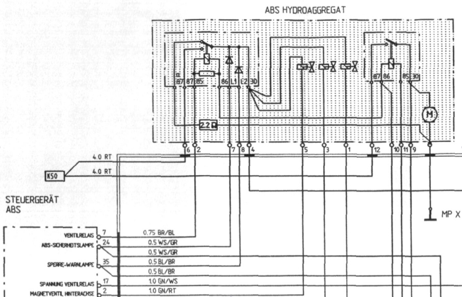 ABS Fehler - Porsche 964 - PFF - unabhängiges Porsche Magazin & Forum