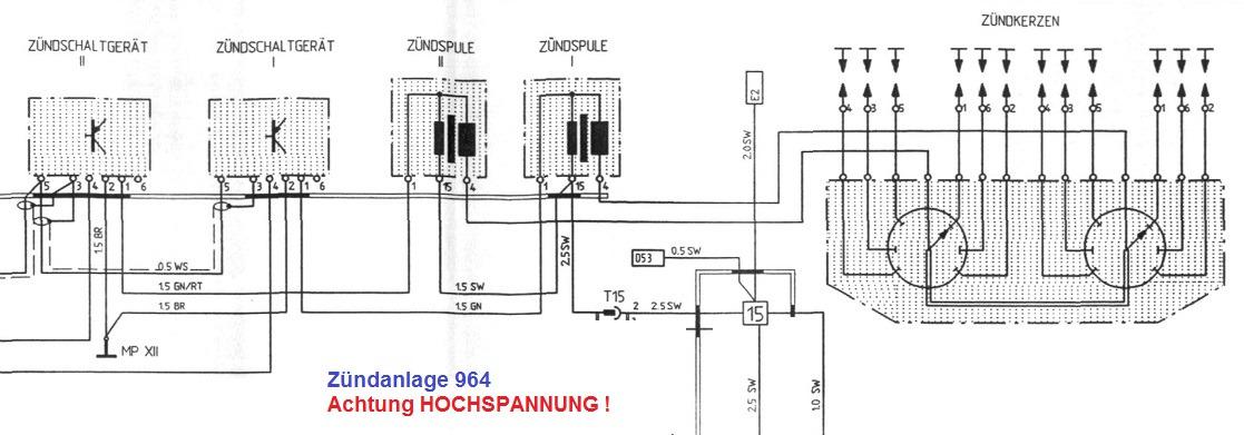 kein Strom auf der Zündspule - Porsche 964 - PFF - unabhängiges ...