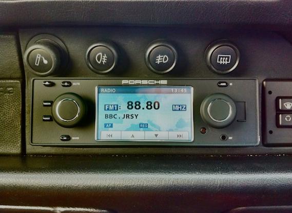 Porsche Classic Radio inkl. Navigation Einbau / Verkabelung 1979er ...