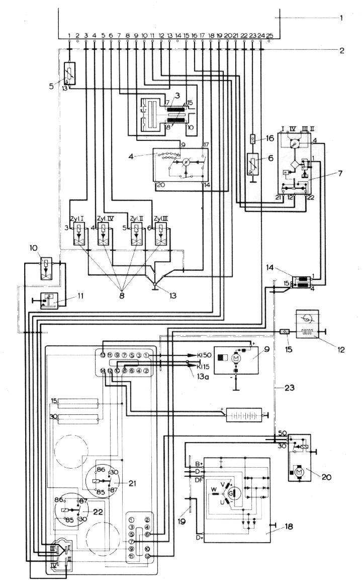 Drosselklappenschalter einstellen - Porsche 914 - PFF - unabhängiges ...