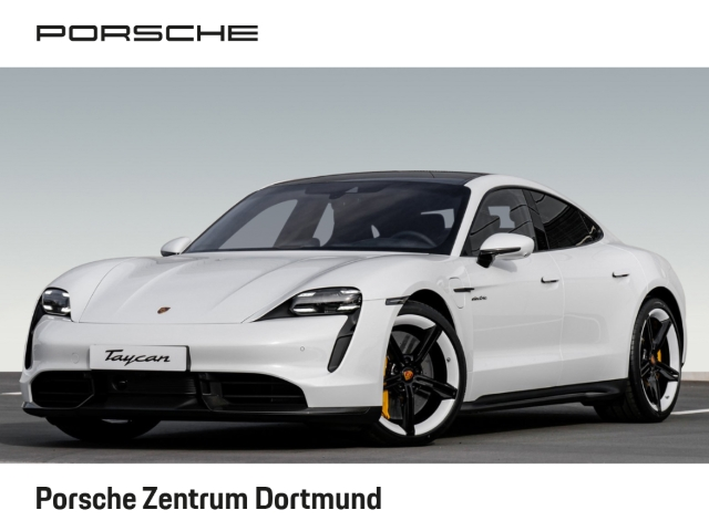 Porsche Taycan Turbo S Burmester Surround-View 21-Zoll