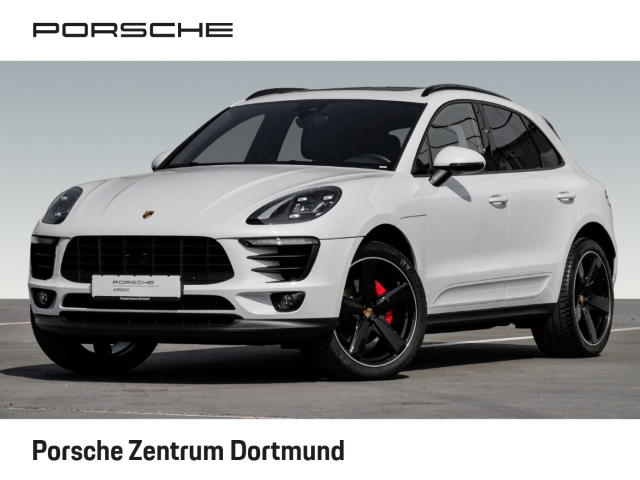 Porsche Macan Sportabgasanlage Panoramadach 21-Zoll